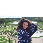 Christine at Versailles
